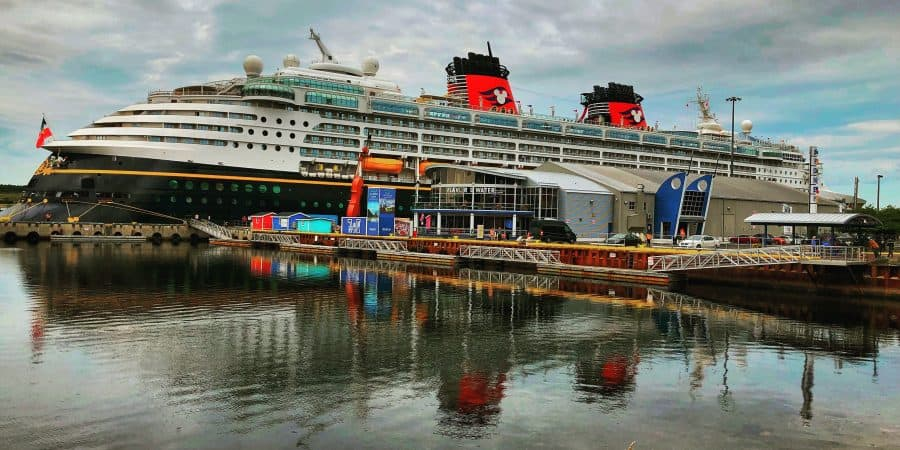 Disney Magic at port in Sydney Nova Scotia