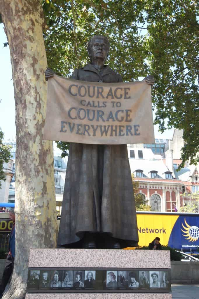 Statue of Millicent Fawcett, Suffragist