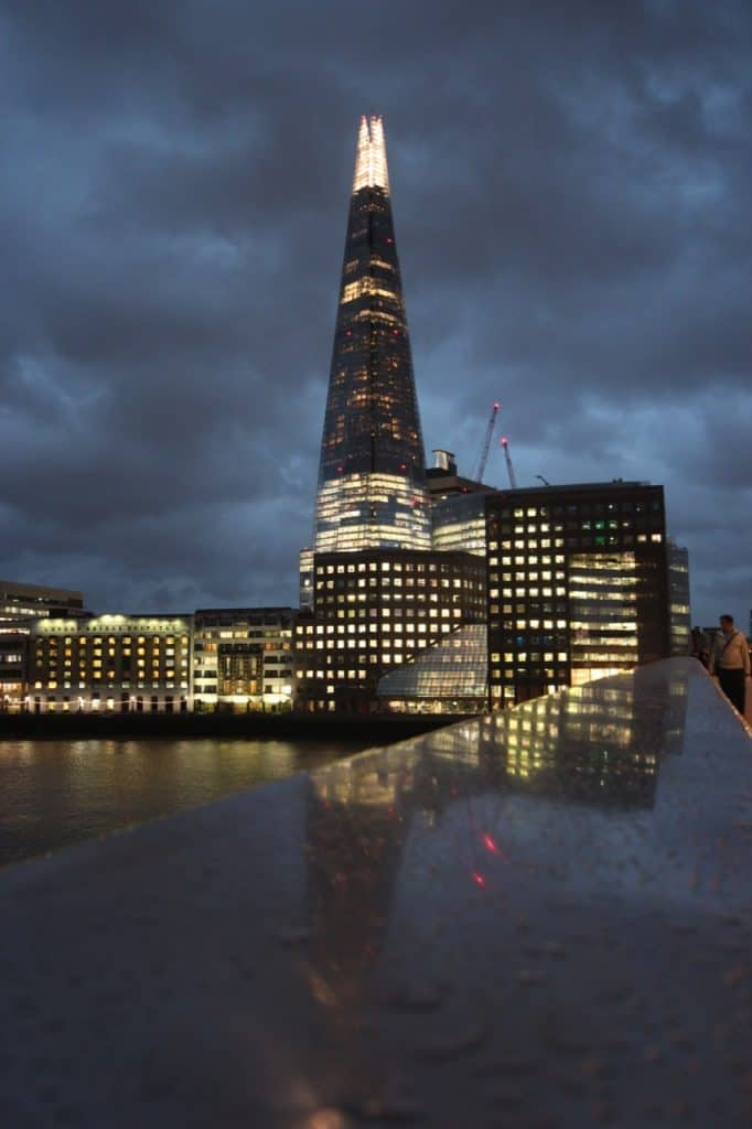 The Shard from London Bridge