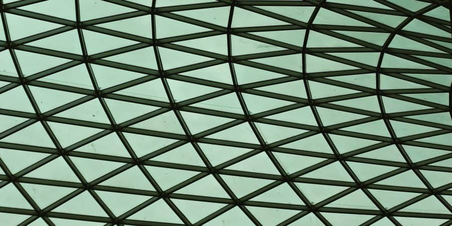 Roof of the British Museum
