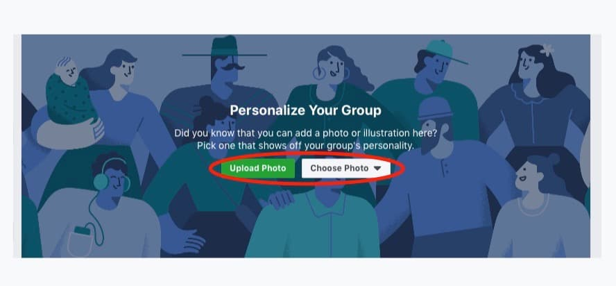 Upload A Group Photo