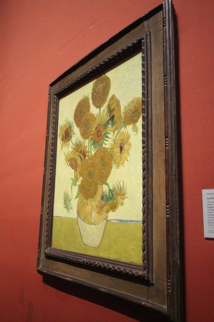 Sunflowers, 1888, Vincent van Gogh art