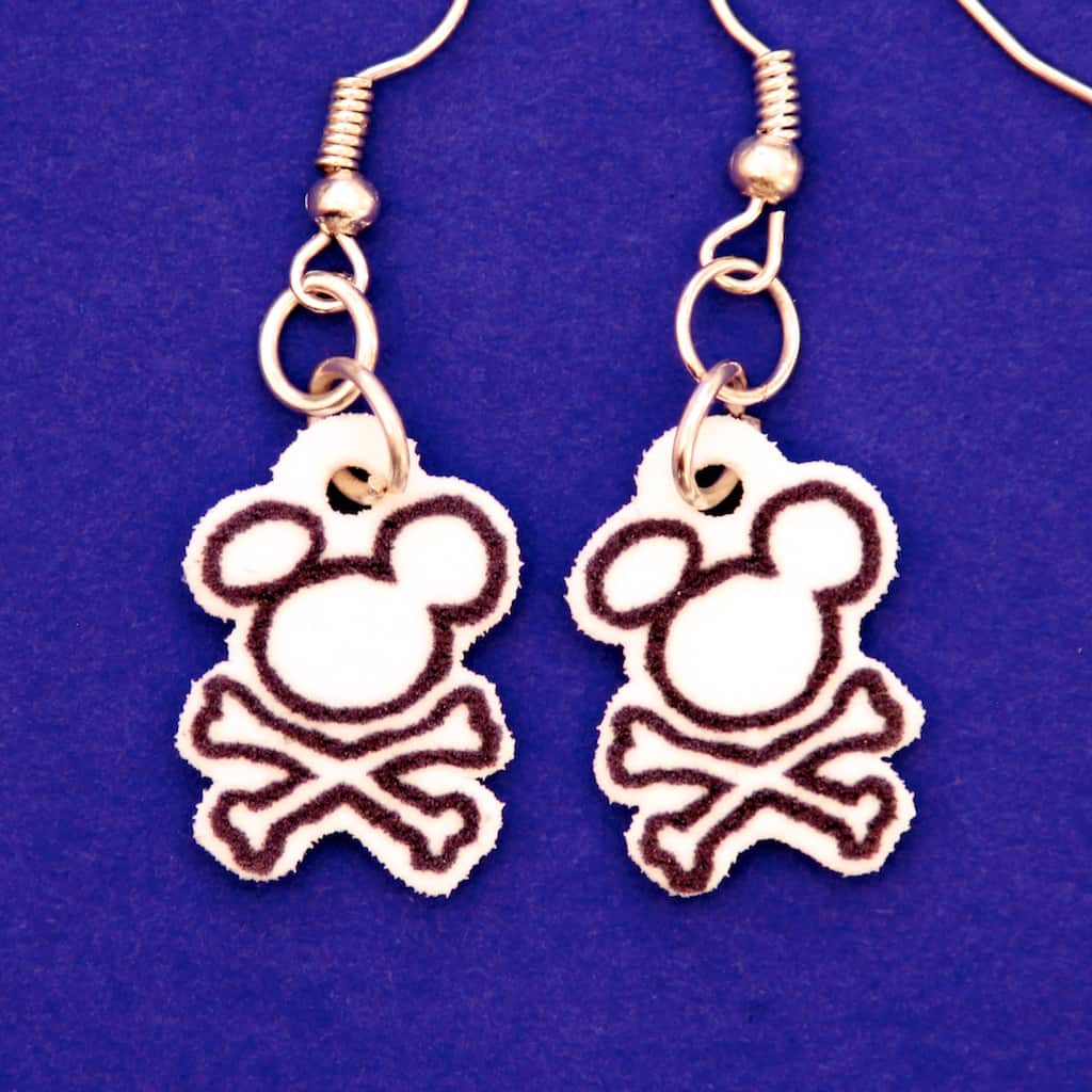 Pirate Mickey Earrings