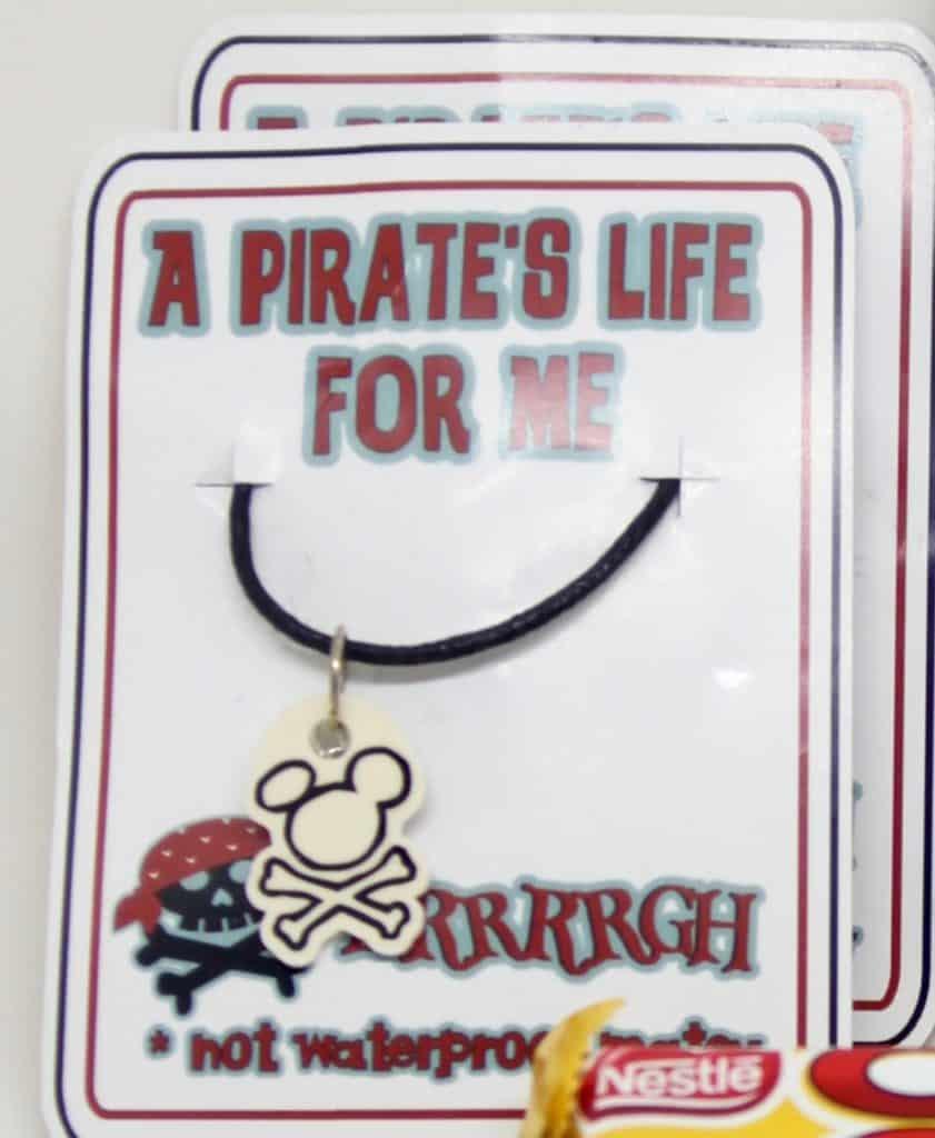 Pirate Mickey Charm