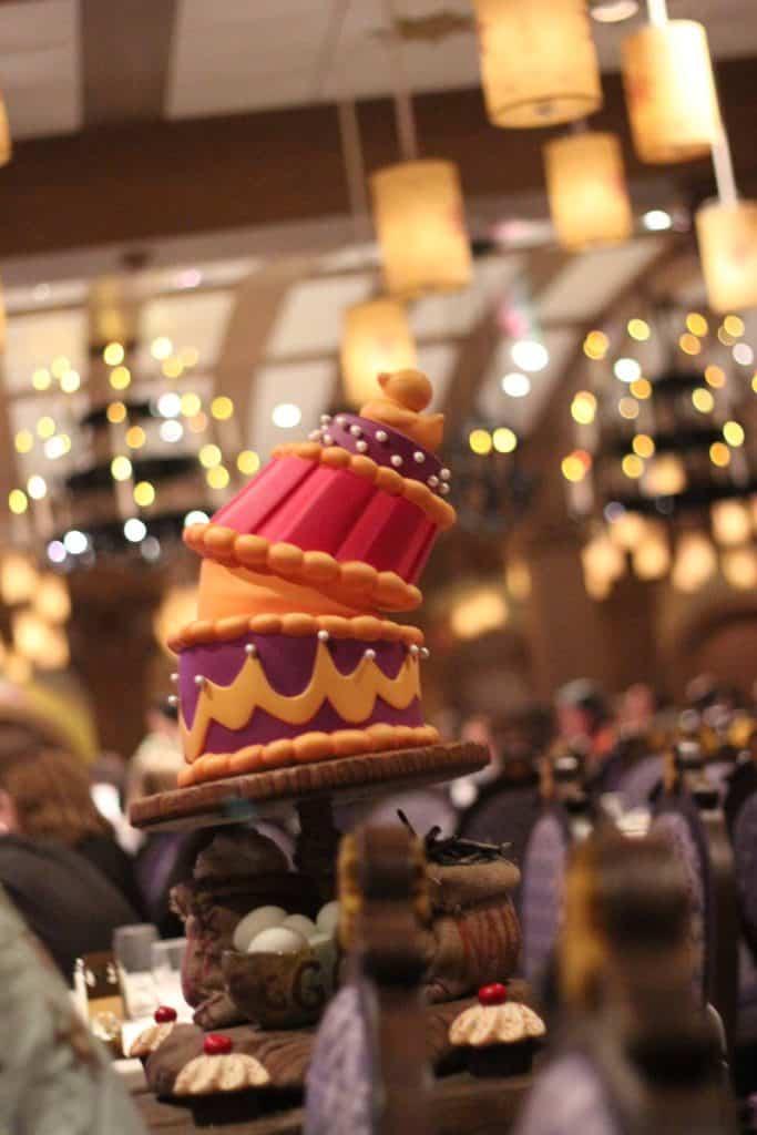Rapunzel's Royal Table Thug Menu Transatlantic Cruise Disney Magic