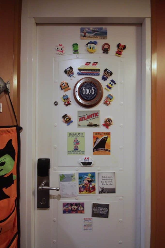 Disney Cruise Cabin Door Magnets