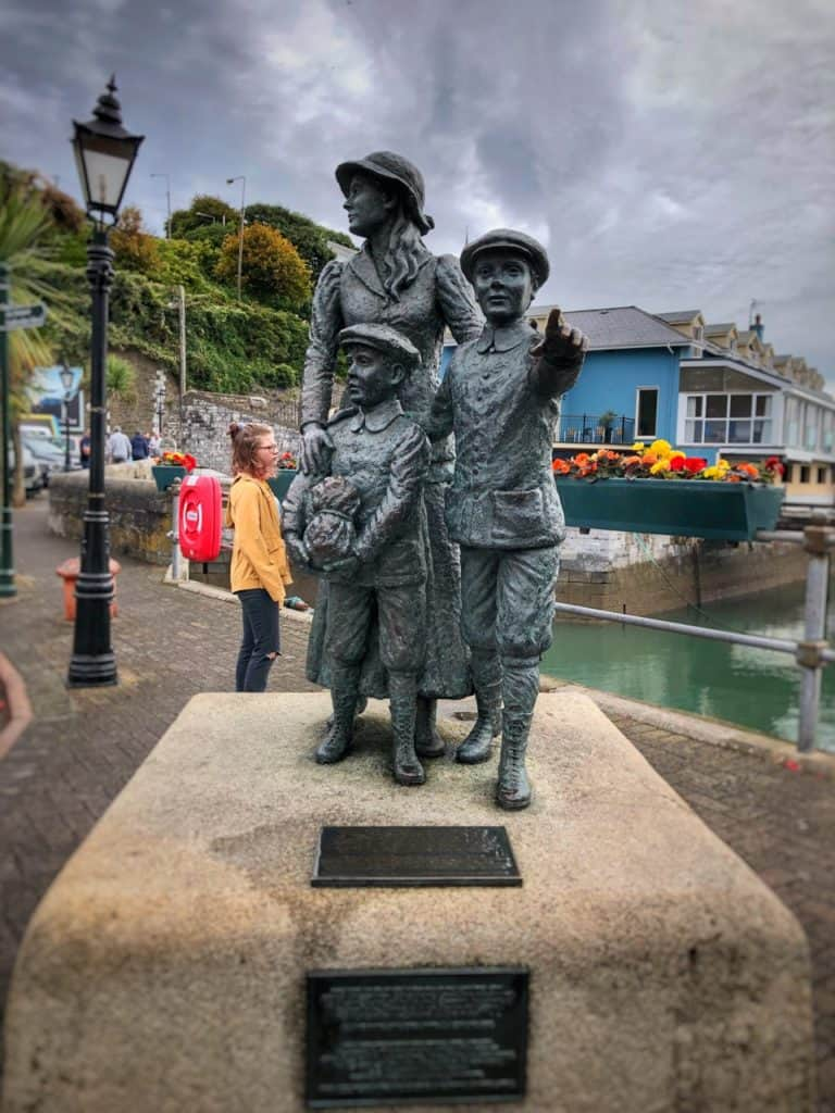 Annie Moore and her brothers Cobh Westbound Transatlantic Cruise Disney Magic