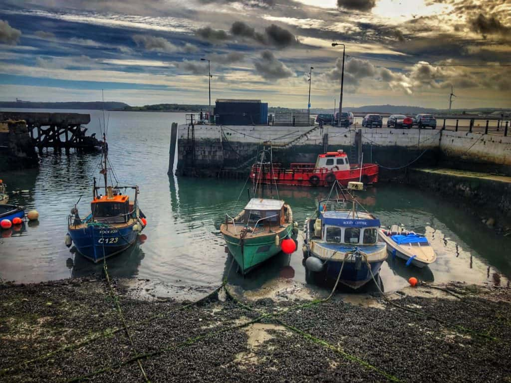 Boats in Cobh Harbour