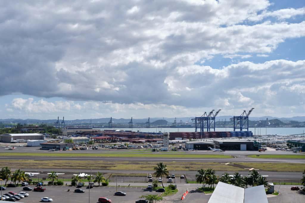 Port of San Juan from the Disney Wonder San Juan to New Orleans