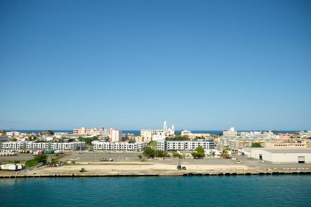Port Old San Juan from the Disney Wonder San Juan to New Orleans