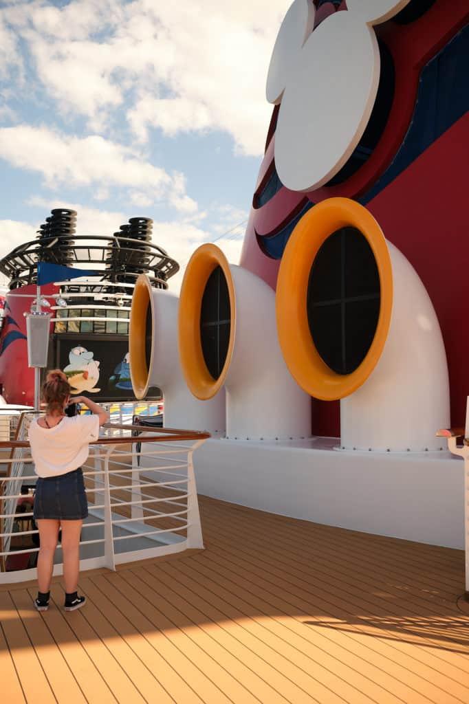 Deck 10 Disney Wonder Port of San Juan to New Orleans