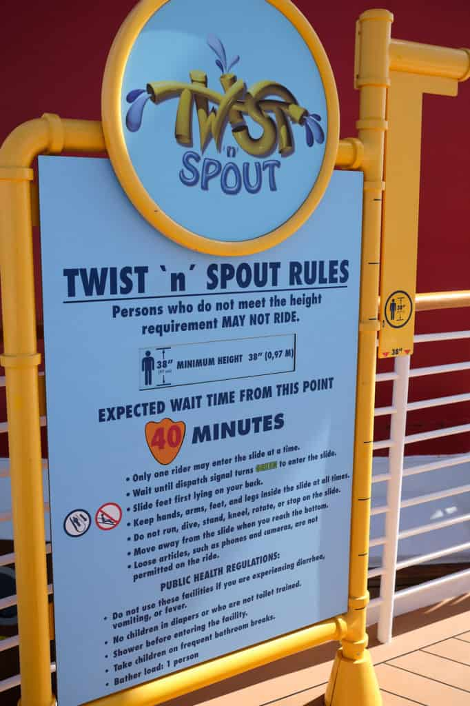 Twist 'n Spout Rules Disney Wonder Port of San Juan Wonder to New Orleans
