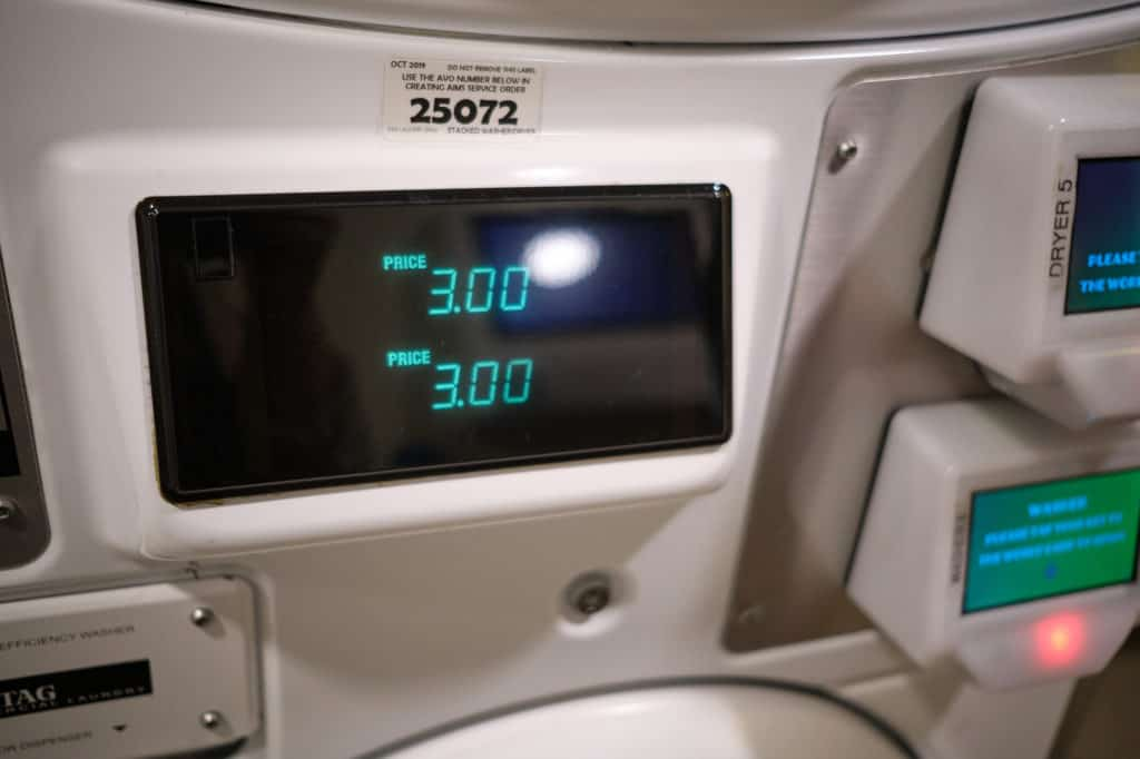Cost of Washer and Dryer Laundry on a Disney Cruise