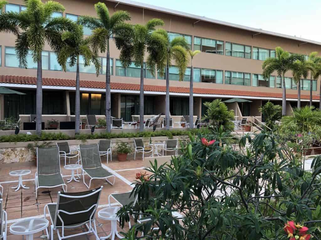 Pool Area at Doubletree Hilton San Juan Disney Wonder