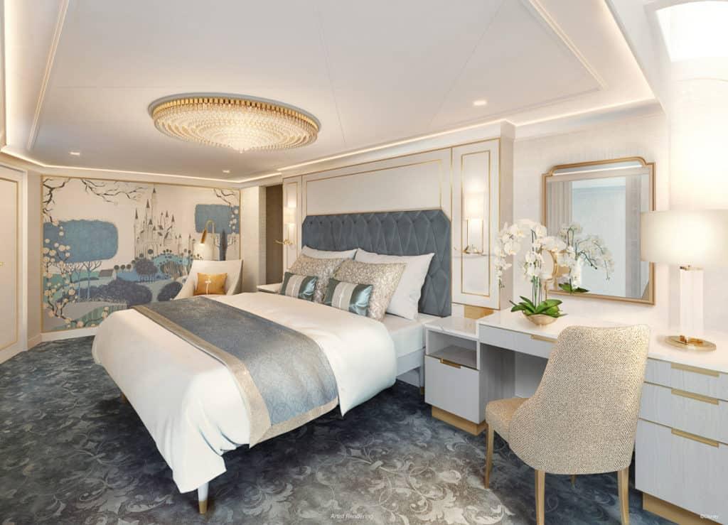 Disney Wish - Staterooms - Princess Aurora Royal Suite