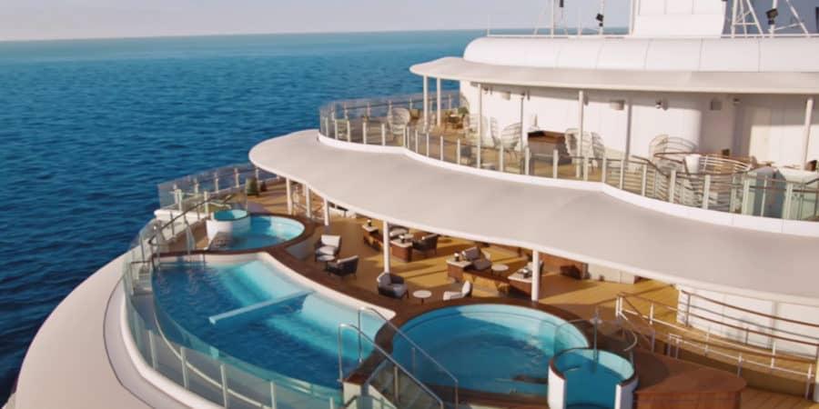 Disney Wish Quiet Cove Upper Deck